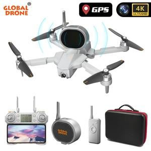Image 4 - Global Drone 4K Profissional Follow Me RC Dron 5G Wifi FPV Quadrocopter GPS Drones with Camera HD Speaker VS SG906 E520 F11 PRO