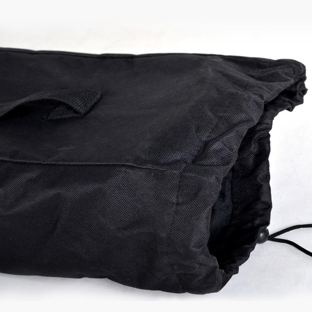 Adjustable Accessories Cover Solid Backpack Travel Skateboard Bag Black Unisex Shoulder Wear Resistant Oxford Cloth Waterproof