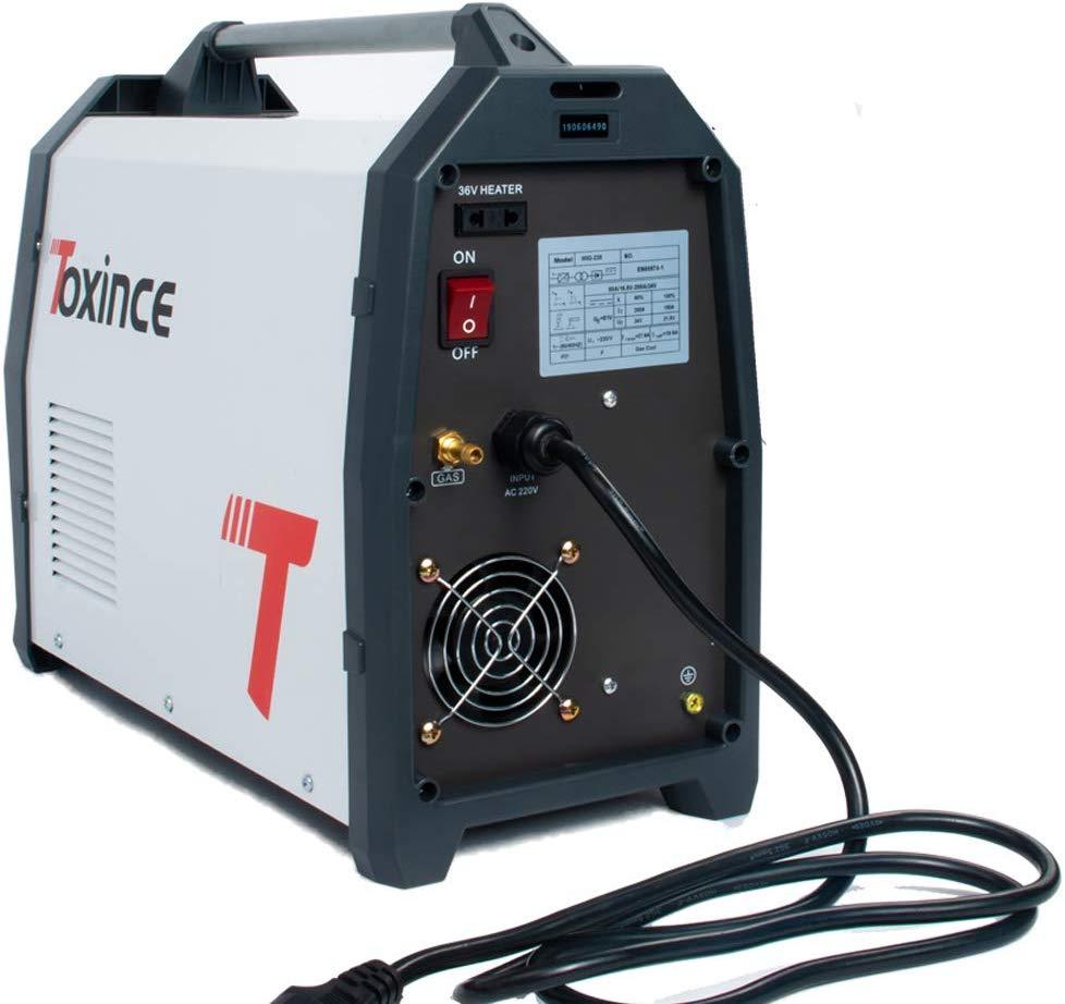 Toxince MIG235AL-DP Digitale Doppel Puls Aluminium DC Schweißer MIG//Puls/Doppel Puls/ARC/Lift TIG Schweißen maschine