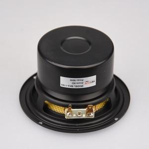 "Image 2 - HIFIDIY لايف HIFI 4 بوصة 4.5 ""Midbass مكبر الصوت وحدة مكبر الصوت 4 / 8 أوم 50 واط الألياف الزجاجية اهتزازي حوض مكبر الصوت BK4 116S"