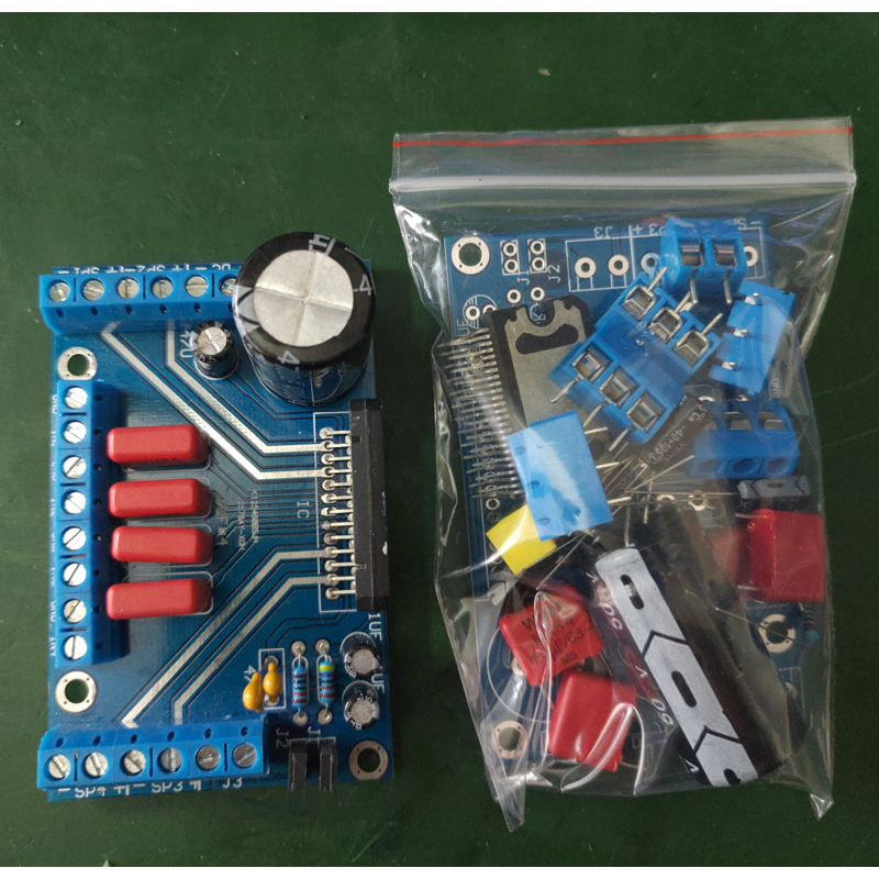 TDA7388 Power Amplifiers Four Channel 4x41W Audio DC 12V BTL PC Car AMP PCB 7850 Compatible