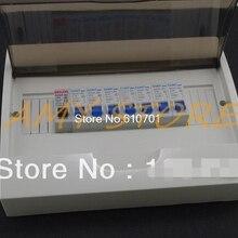 7 шт. 16A 1 шт. 63A миниатюрный выключатель DZ47-60(C45N) 1P AC230/400 В с распределительной коробкой на din-рейке