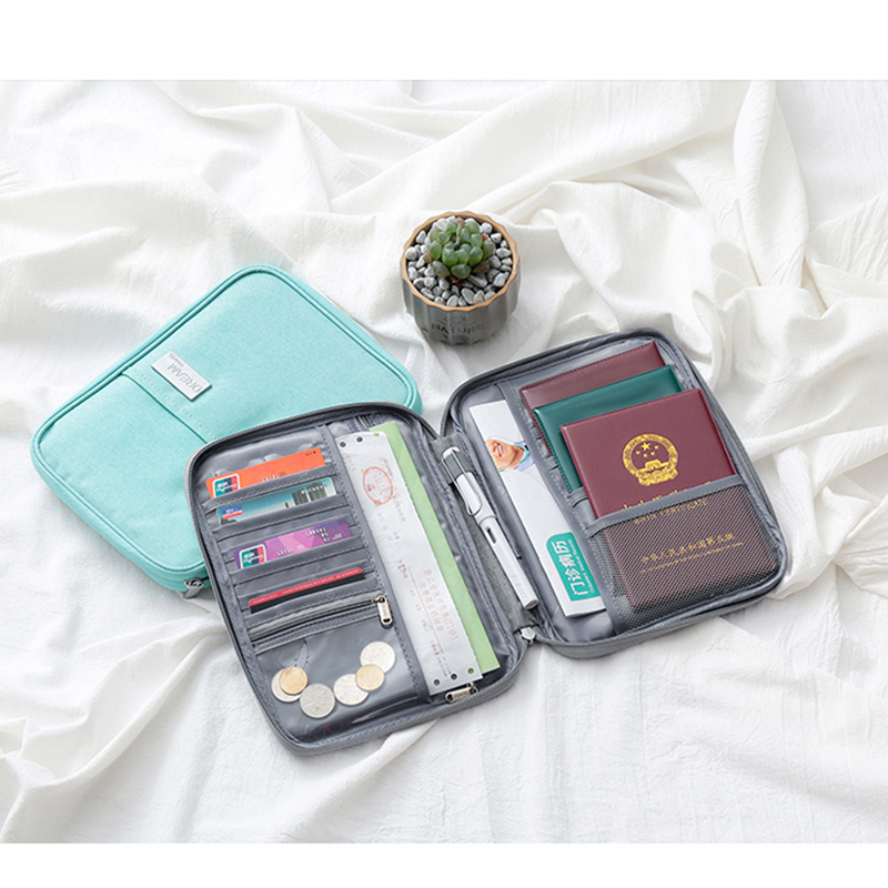 Waterproof Family Passport Holder Travel Wallet Card Package Credit Card Holde Organizer Travel accessories Document Case New