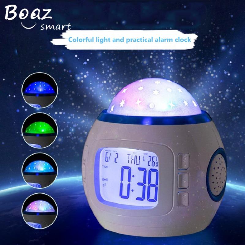 BOAZ Starry Sky Projector LED Decoration Night Light Multi-function Laser Gift for Kids Children living/Bedroom