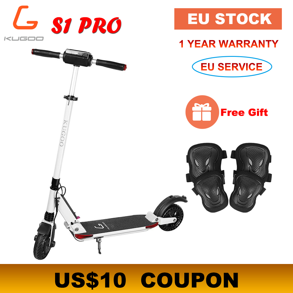 [Europa STOCK] KUGOO S1 PRO Pieghevole Adulto Scooter Elettrico 7.5AH 350W 30 KM/H XIAOMI M365 e Scooter PK Ninebot