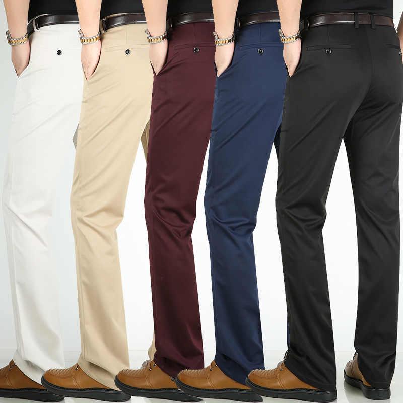 Los Hombres Pantalones De Traje De Negocios Clasico Pantalones Hombres Pantalones De Vestir Clasico De Los Hombres Pantalones De Pantalones Formales De Hombre Social Pantalones Hombres Pantalones De Traje Pantalones De Traje