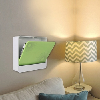 Folding Mini Wall Storage Holder Hanger Wall Box Projectors Bracket Speaker Holder with Tray Mini Wall Storage Holder