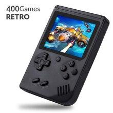 400 juegos MINI portátil Retro videoconsola de mano juego avanzado jugadores niño 8 Bit incorporado Gameboy 3,0 pulgadas Color pantalla LCD