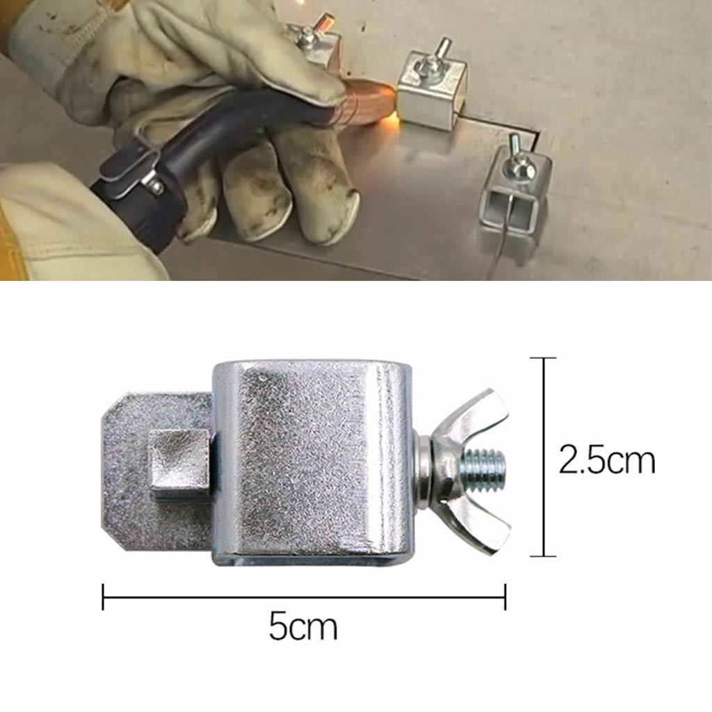 Butt Welding Clamp 8pcs Sheet Metal Butt Welding Clamps for Car Truck Door Skin Panel Fender for Straight Panels or Curved Panels
