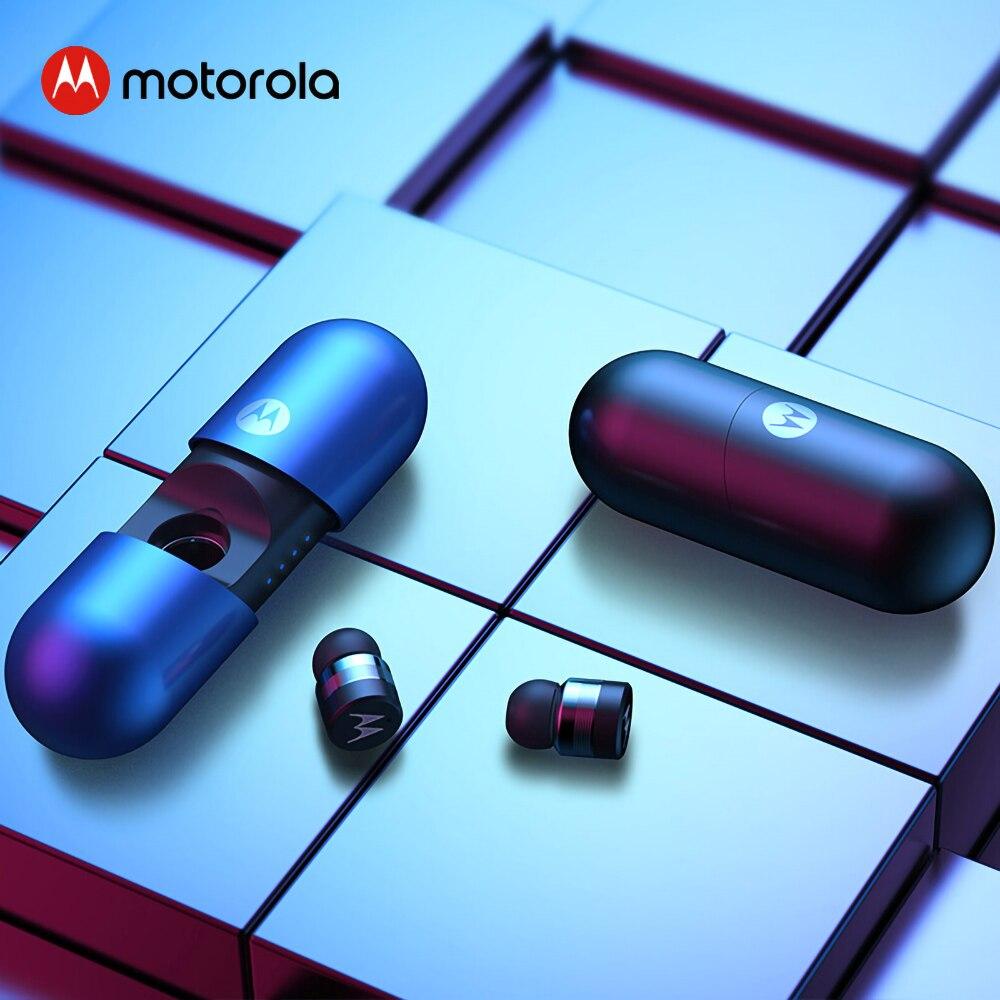 Motorola VerveBuds 400 Ture Wireless Bluetooth Kopfhörer Mini Kopfhörer Headset IPX6 Wasserdicht für Huawei Xiaomi VerveBuds400