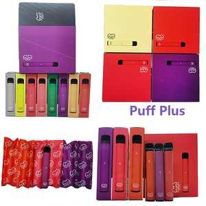 Pods Vape Puff-Bar-Plus 550mah-Battery 50pcs/Lot Stick-Style Pre-Filled NEW