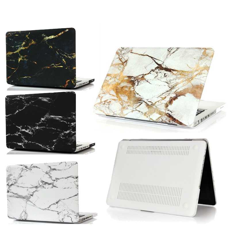 Marble Laptop Case for MacBook Air Pro Retina 11 12 13 15 Inch Touch Bar Shell Cover for Macbook New Air 13 A1932 A1990 A1989