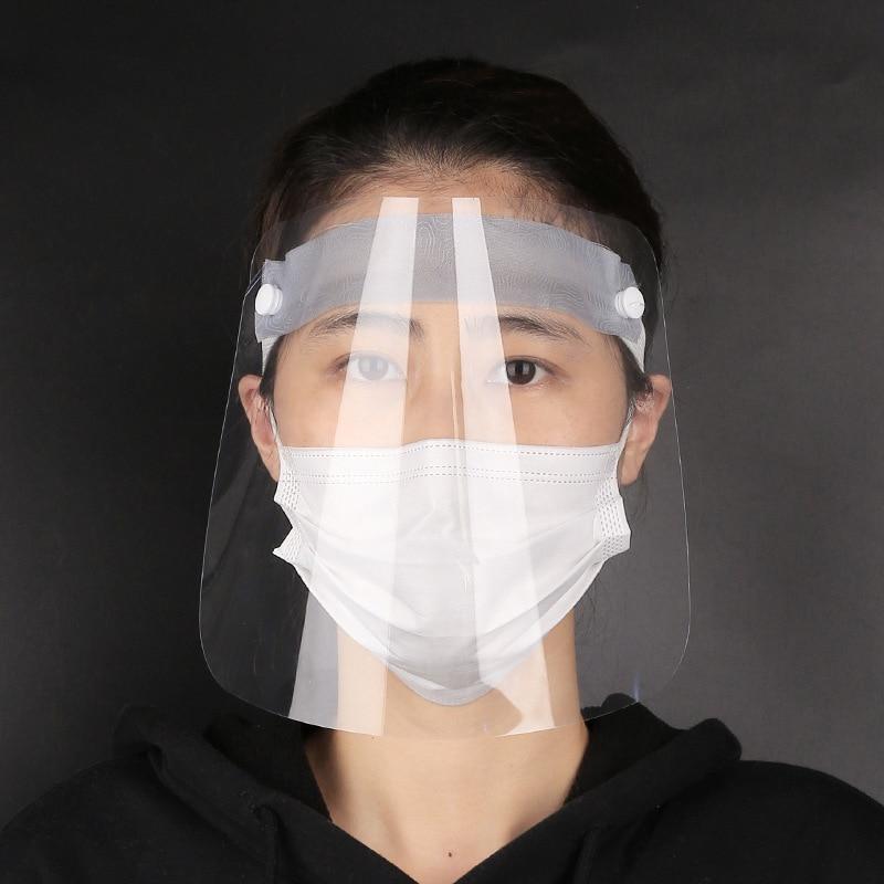 Protective Face Mask Transparent Mask Protective Face Shield Transparent PVC Anti fog Saliva Anti virus Protection Innrech Market.com