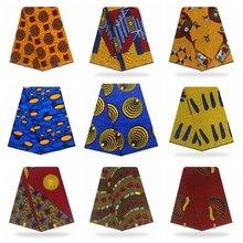 Ankara-Fabric Wedding-Dress Tissue African Real-Wax 100%Cotton Original for New