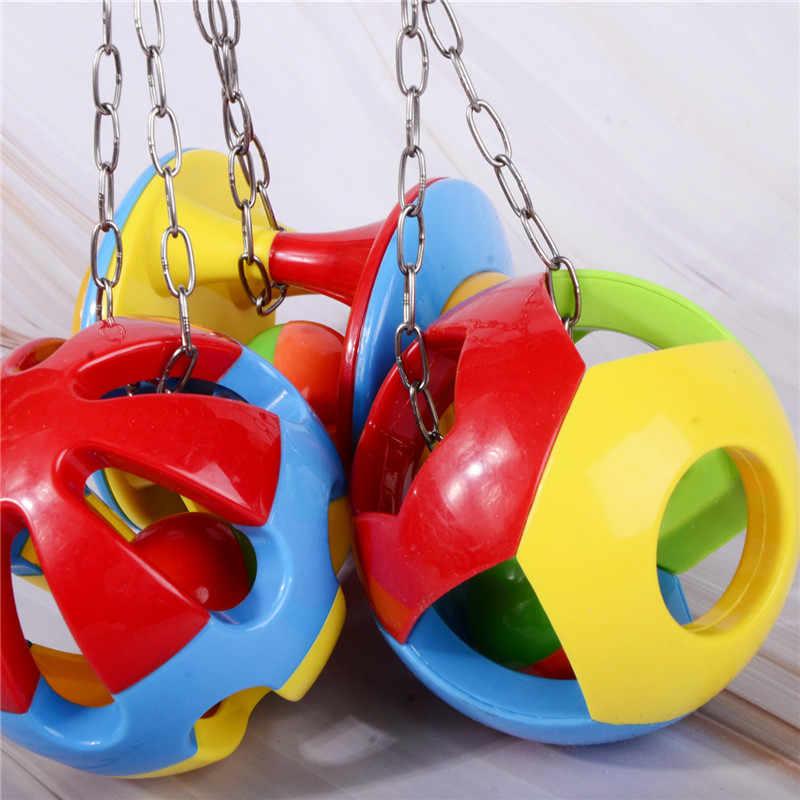 ペットの鳥をかむかむおもちゃオウムのおもちゃオウムスイングぶら下げオカ鳥のおもちゃの鳥用品