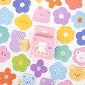 Mohamm 46 шт цветок и все серии украшения Наклейка бумага Скрапбукинг креативные канцелярские товары для школы