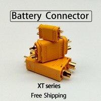 Conector de batería XT30/60/90, enchufes de combinación macho y hembra para cargadores de controlador de batería, 1/5/10/30 Uds.