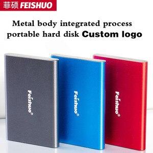 Custom Logo Draagbare Externe Harde Schijf Usb 3.0 120G 500G 1 Tb 2 Tb Opslag Hdd Externe Hd harde Schijf Voor Pc, mac, Tablet,Xbox,PS4(China)