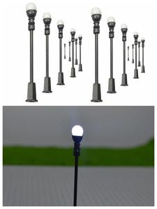Architectural-Patio-Lamps Model Led Miniature Diorama Toys Scale Scene Garden-Light Cool