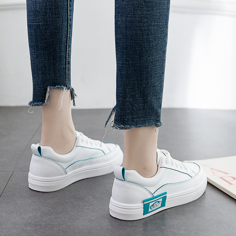 Harajuku Classics Platform Shoes Women Fashion Sneakers Casual Loafers Woman Low-cut White Shoes Qualtiy PU Student Skateboard