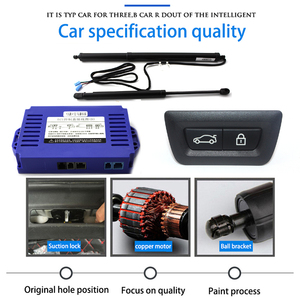 Image 2 - LiTangLee Car Electric Tail Gate Lift Trunk Rear Door Assist System For BMW 6 Series F06 2011~2018 Original key Remote Control
