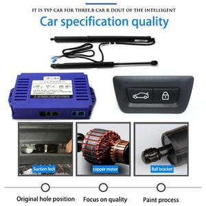 Image 2 - LiTangLee samochodów elektryczny podnośnik tylnej klapy bagażnika tylna klapka System wspomagania dla BMW serii 6 F06 2011 ~ 2018 oryginalny klucz zdalnego sterowania