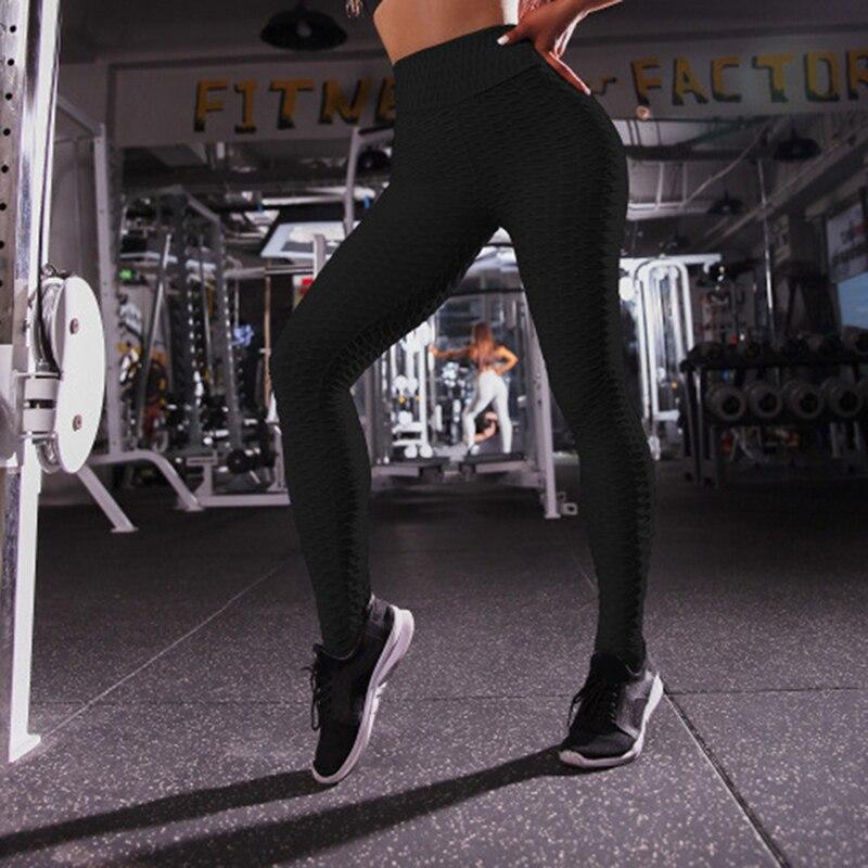 Women Push Up Leggings Elastic Compression Leggings