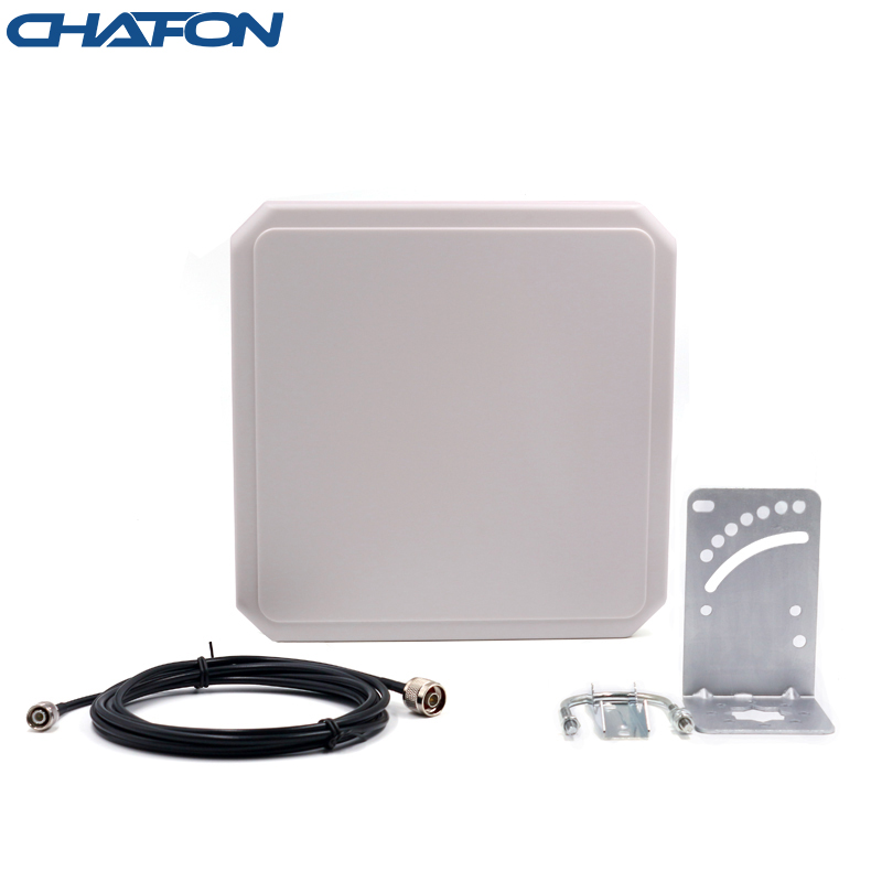 IP66 ABS Uhf Rfid Antenna Circular Type With 9dBi Gain For Sports Timing System