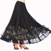 Modern Ballroom Dance Skirt Waltz Modern Standard Tango Dancew Dance Competition Dresses Stage Performance Modern Show Skirt