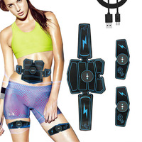 Wireless Muscle Stimulator EMS Abdominal Muscle Trainer Electric Weight Loss Stickers Body Slimming Belt Unisex Fitness Equiment