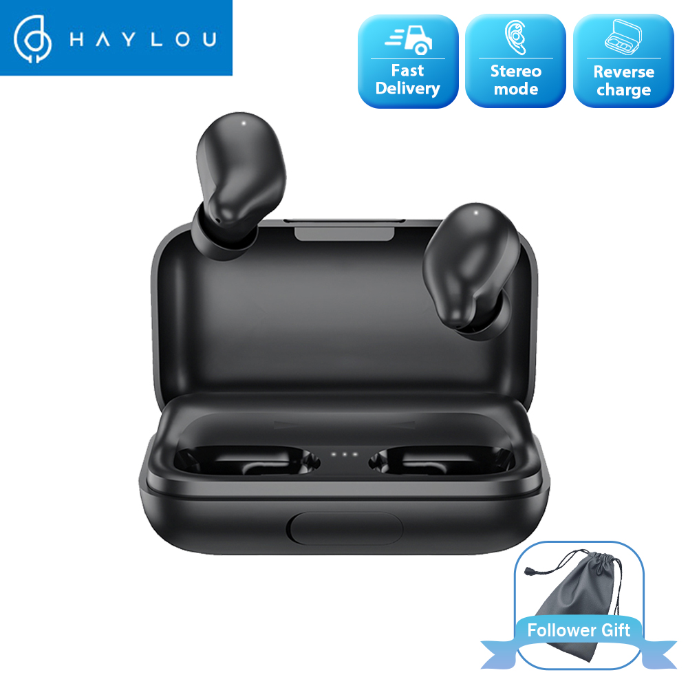 Haylou T15 2200mAh Touch Control Wireless Headphones HD Stereo Noise Isolation Bluetooth Earphones With Battery Level Display|Bluetooth Earphones & Headphones|   - AliExpress