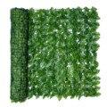 Искусственный лист садовый забор экранированный рулон УФ выцветание защита конфиденциальности искусственный забор стены озеленение Плющ ...
