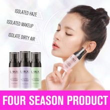 цена на LAIKOU Face Smooth Primer Make up Concealer Base Pores Invisible Brighten Dull Skin Color Whitening Cream Wrinkle Cover Makeup