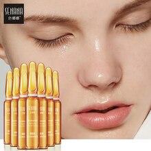 SENANA Face Serum Hyaluronic Acid 24k gold Nicotinamide Ampoule Anti-Aging essen
