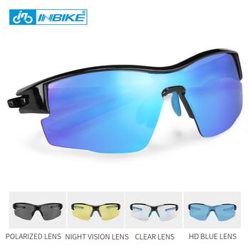 ΙΝΒΙΚΕ Γυαλιά ηλίου ποδηλατικά με 5 διαφορετικούς πολωτικούς φακούς για άνδρες και γυναίκες