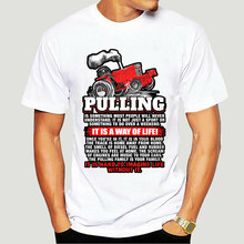 Для мужчин футболка трактор потянув-образ жизни футболки Для женщин t-shirt-4654A