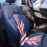Full wrap sitz abdeckung Leder kissen auto styling Innen zubehör Für BMW MINI ONE COOPER S F54 F55 F56 F60 r60 dekoration