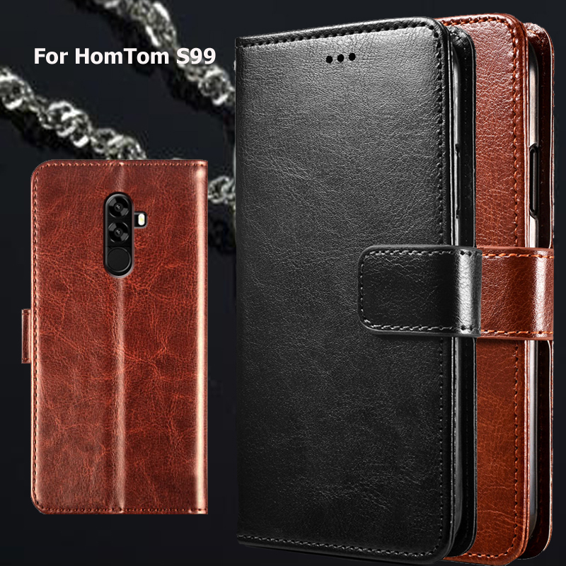 Phone Case For Hom Tom S99 Pattern Flip Case For HomTom S99 S 99 Coque Funda PU Leather Wallet Leather Cover Capasase(China)