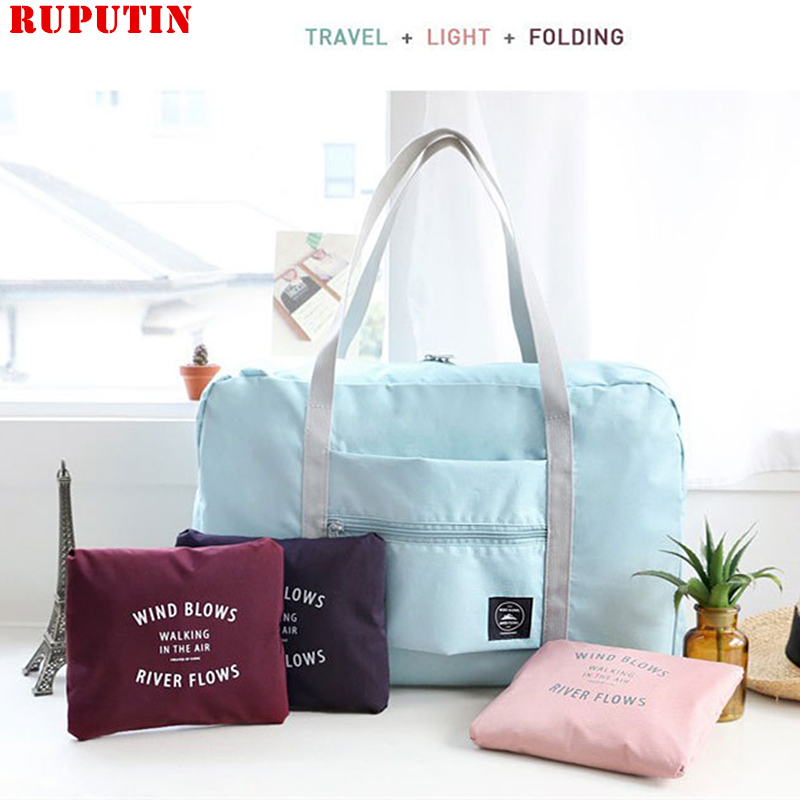 Women's Travel Bags Clothes Luggage Storage Make Up Organizer Collation Pouch Cases Waterproof Folding Bags Ladies Cosmetic Bag
