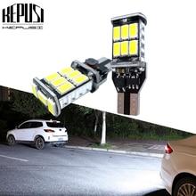 цена на 2pcs 1000Lm W16W T15 LED Bulbs Canbus OBC Error Free LED Backup Light 921 912 W16W LED Bulb Car reverse lamp Xenon White 12V 24V
