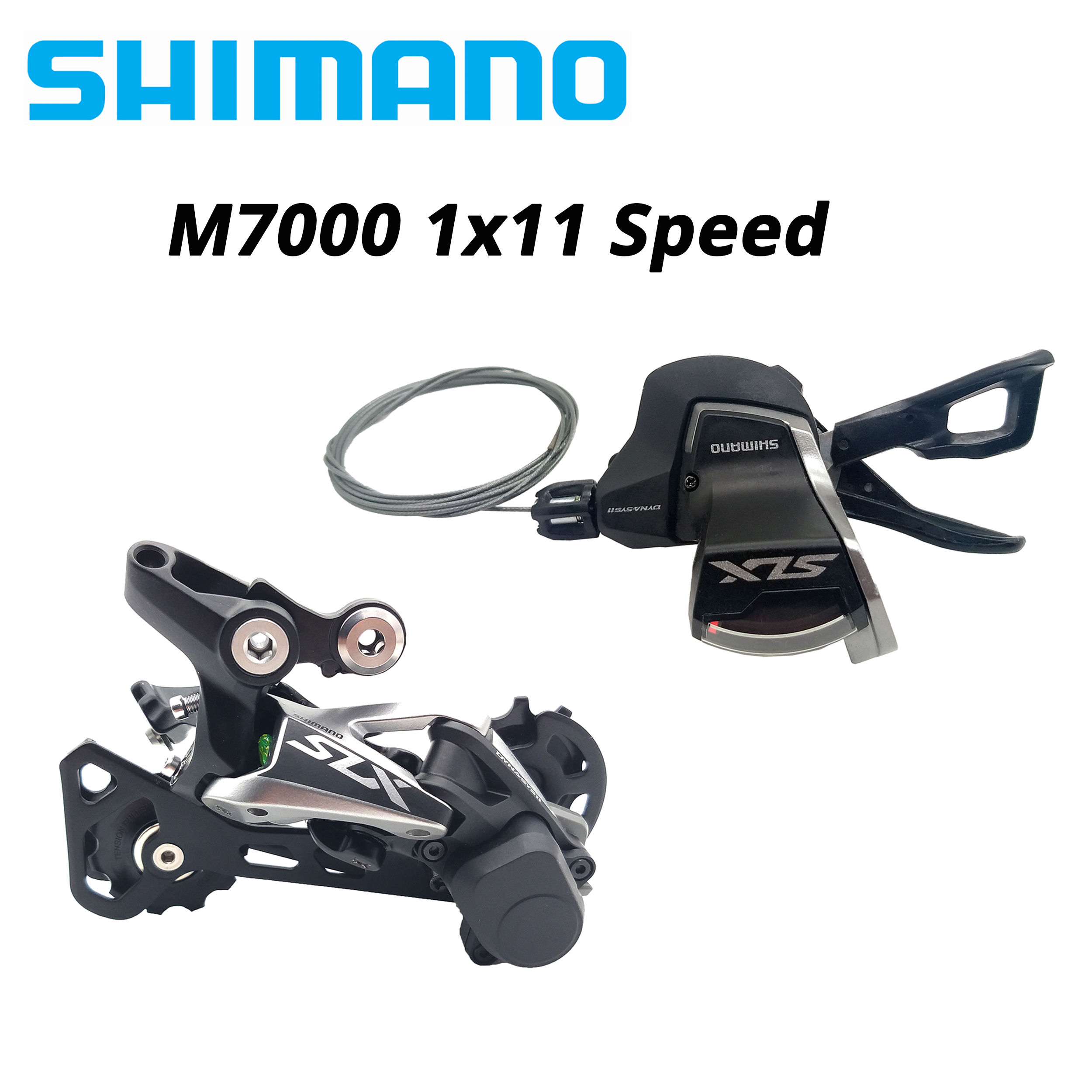 Shimano SLX M7000 11 Speed Trigger Shifter 11 Speed Rear Derailleurs Group
