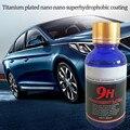 Керамическое покрытие для автомобилей 9 H, средство для ухода за лакокрасочным стеклом мотоцикла, нано-гидрофобное покрытие для полировки с...