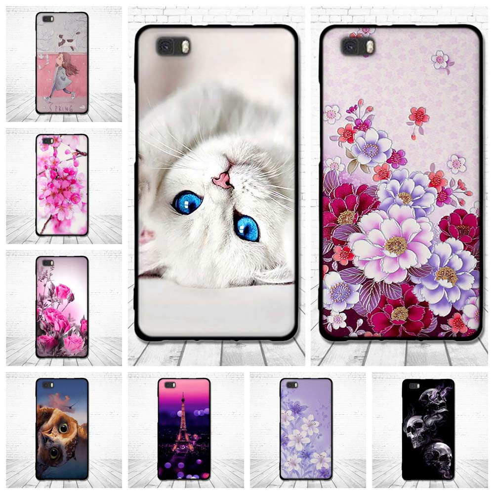 Case For Huawei P8 Lite ALE-L21 Coque Back Phone Covers For Huawei P8 Lite ALE-L21 Cover Shells For Huawei P8 Lite ALE-L21 Capas