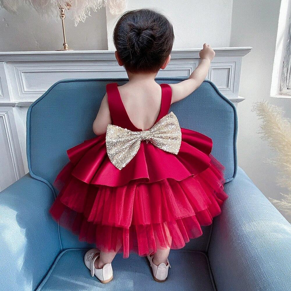 New Baby Girl Clothes Vestidos Infantil Girls Princess Dress Infant 1 Year First Birthday Girl Party Dress Newborn Wedding Dress Dresses Aliexpress
