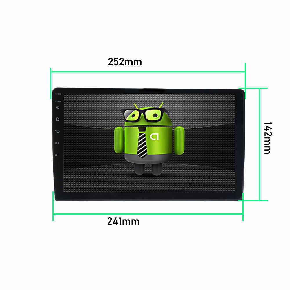 2din Autoradio Android Multimedia Speler Autoradio 2 Din 10.1 Inch Touch Screen Gps Bluetooth Fm Wifi Auto Audio Speler stereo
