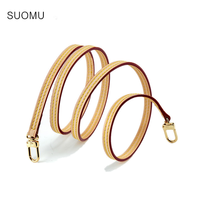 Bag strap 100% genuine leather handbag straps color can change belts really oxidation cow leather accessory bags parts 2019 new
