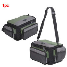 Pack Zipper Holdall Camera Fishing Tackle Pouch Shoulder Bag Large Capacity Storage Messenger Lure Oxford Rod Reel Outdoor(China)