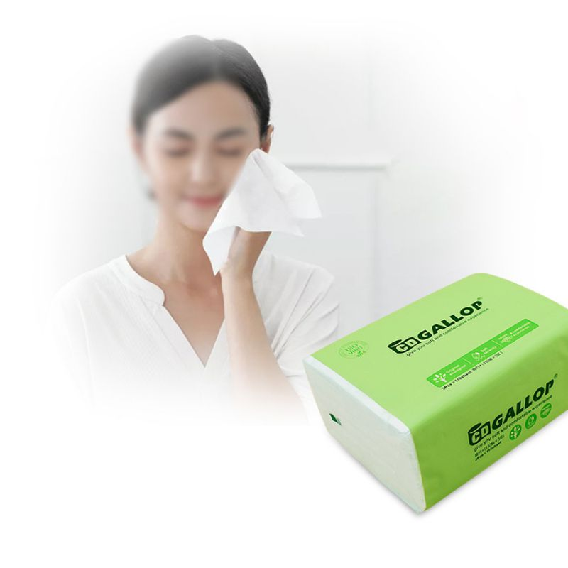 3PCS Toilet Paper Disposable Portable Facial Tissue Health Cotton Roll Paper Face Cleaning Paper Towel Tissue