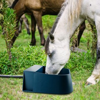 Farm Equipment Automatic Float Valve Water Trough PP Livestock Drinking Bowl Farm Feeding Apparatus For Horse Sheep Cow