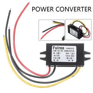 Car Step Down Converter Waterproof Power Supply Converter DC-DC Step Down Volt Converter 20V-55V 24V 36V 48V to 12V 3A(China)